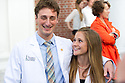 Brian Till, left, Erin Pichiotino. Class of 2017 White Coat Ceremony.