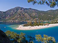Oludeniz Lagoon, southern Turkey