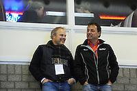 SCHAATSEN: HEERENVEEN: 12-12-2014, IJsstadion Thialf, ISU World Cup Speedskating, Marnix Wieberding Sport Navigator, Bert Jonker dir. CLAFIS Ingenieus, ©foto Martin de Jong