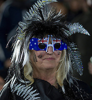 Rugby World Cup Auckland  New Zealand v Argentina Quarter Final 4 - 09/10/2011. New Zealand fan before the match.Photo Frey Fotosports International/AMN Images