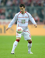 FUSSBALL  DFB POKAL       SAISON 2012/2013 FC Bayern Muenchen - 1 FC Kaiserslautern  31.10.2012 Alexander Baumjohann (1. FC Kaiserslautern)