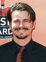 LOS ANGELES, CA, USA - MAY 01: Jason Ritter at the iHeartRadio Music Awards 2014 held at The Shrine Auditorium on May 1, 2014 in Los Angeles, California, United States. (Photo by Celebrity Monitor)