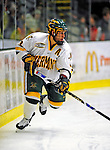 9 January 2009: University of Vermont Catamounts' forward Peter Lenes, a Senior from Shelburne, VT, in action during the first game of a weekend series against the Boston College Eagles at Gutterson Fieldhouse in Burlington, Vermont. The Catamounts scored with one second remaining in regulation time to earn a 3-3 tie with the visiting Eagles. Mandatory Photo Credit: Ed Wolfstein Photo