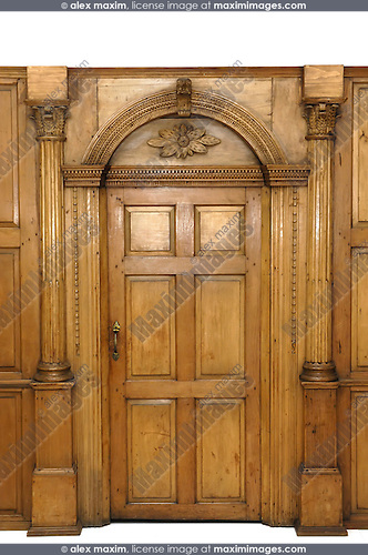 Arched Wooden Door Stock Photo Fashion Commercial Fine