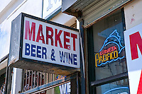 Market Beer and Wine, Oceanfront Walk, Venice, CA, Ocean Front Walk, Venice Beach, Los Angeles, California, United States of America