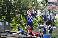 FIERLJEPPEN: IT HEIDENSKIP: 12-08-2015, Sytse Bokma, ©foto Martin de Jong