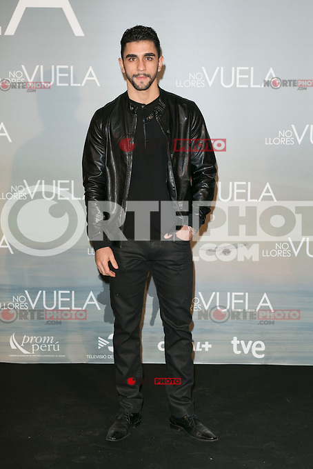 Cesar Mateo attends Claudia&acute;s Llosa &quot;No Llores Vuela&quot; movie premiere at Callao Cinema, Madrid,  Spain. January 21, 2015.(ALTERPHOTOS/)Carlos Dafonte) /NortePhoto<br />