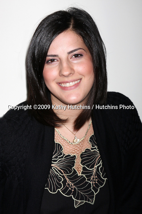 Nadia Del Real.Headshot Photo Shoot.Anchor Bay Offices.Beverly Hills,  CA.October 23, 2009.©2009 Kathy Hutchins / Hutchins Photo.