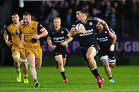 Matt Banahan of Bath Rugby goes on the attack. European Rugby Challenge Cup match, between Bath Rugby and Bristol Rugby on October 20, 2016 at the Recreation Ground in Bath, England. Photo by: Patrick Khachfe / Onside Images
