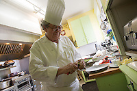 20130401 Chef Antonino DiRuocco cooks at Alpha Gamma Rho fraternity