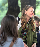 NEW YORK, NY-June 20: Sutton Foster shooting on location for TV LAND Younger in New York. NY June 20, 2016. Credit:RW/MediaPunch