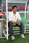 09 August 2008: Brazil head coach Jorge Barcellos (BRA).  The women's Olympic soccer team of Brazil defeated the women's Olympic soccer team of North Korea 2-1 at Shenyang Olympic Sports Center Wulihe Stadium in Shenyang, China in a Group F round-robin match in the Women's Olympic Football competition.