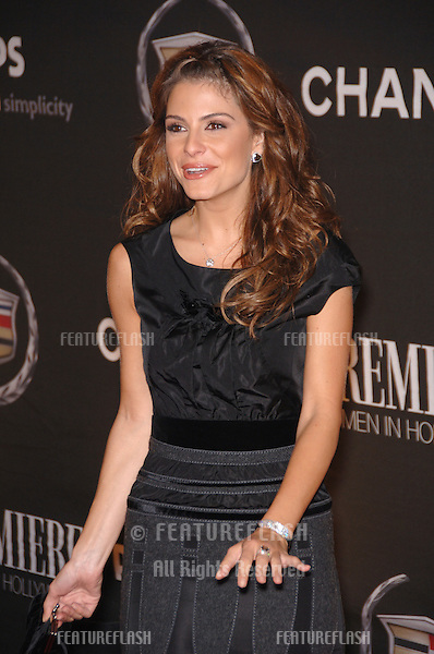 TV presenter MARIA MENOUNOS at the 13th Annual Premiere Magazine Women in Hollywood gala at the Beverly Hills Hotel..September 20, 2006  Los Angeles, CA.© 2006 Paul Smith / Featureflash