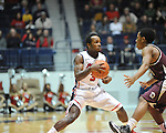 Ole Miss' Derrick Millinghaus (3) vs. Arkansas Little Rock at the C.M. &quot;Tad&quot; Smith Coliseum in Oxford, Miss. on Friday, November 16, 2012. Ole Miss won 92-52.