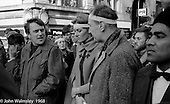 Vanessa Redgrave and other leaders, anti-Vietnam war demonstration march from Trafalgar Sq to Grosvenor Sq Sunday 17th March 1968.  I was told the headband was a Vietnamese sign of mourning for dead children.