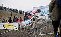 Mathieu Van der Poel (NED/Beobank-Corendon)<br /> <br /> elite men's race<br /> CX Superprestige Noordzeecross <br /> Middelkerke / Belgium 2017