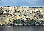 Cliffs on Curacao