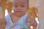 Baby in Phnom Penh