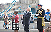 Raising the flag for Armed Forces Day <br />