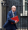 Cabinet Meeting <br /> 10 Downing Street London, Great Britain <br /> 29th March 2017 <br /> <br /> departures following the final cabinet meeting before Article 50 is triggered in Parliament today.<br /> <br /> <br /> Damian Green MP <br /> <br /> Photograph by Elliott Franks <br /> Image licensed to Elliott Franks Photography Services