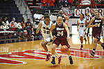 "Ole Miss' Tia Faleru (32) vs. UMass' Emily Mital (24) at the C.M. ""Tad"" Smith Coliseum in Oxford, Miss. on Saturday, December 8, 2012."