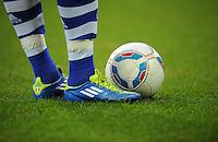 FUSSBALL   1. BUNDESLIGA   SAISON 2011/2012    11. SPIELTAG FC Schalke 04 - 1899 Hoffenheim                            29.10.2011 Symbolbild: Ball und Beine