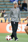 18 May 2011: U.S. head coach Pia Sundhage (SWE). The United States Women's National Team defeated the Japan Women's National Team 2-0 at WakeMed Stadium in Cary, North Carolina as part of preparations for the 2011 Women's World Cup.