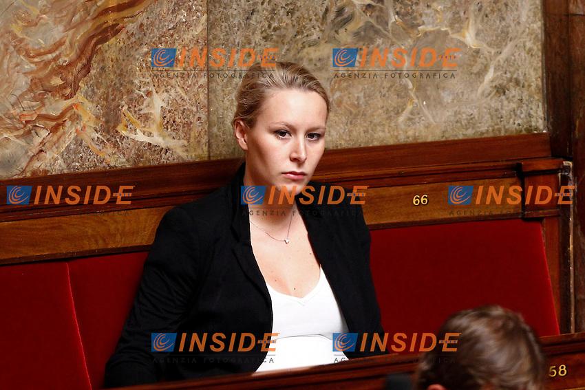 25-06-2014 Assemblea Nazionale <br /> Marion Marechal Le Pen <br /> Foto Panoramic / Insidefoto