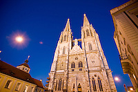 St. Peters cathedral, Regensburg, Germany