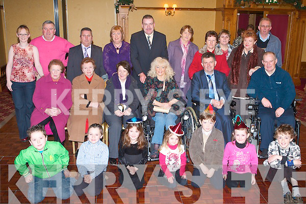 FESTIVE FUN: Having a great time at the MS Ireland Tralee branch Christmas party at the Meadowlands Hotel on Sunday..   Copyright Kerry's Eye 2008