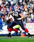 20 December 2009: Buffalo Bills' guard Richie Incognito (62) in action against the New England Patriots at Ralph Wilson Stadium in Orchard Park, New York. The Patriots defeated the Bills 17-10. Mandatory Credit: Ed Wolfstein Photo
