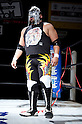 The mexican wrestler Skandalo, MARCH 25, 2012 - Pro Wrestling: Fukumen Mania event at 1st Ring Shinkiba in Tokyo, Japan.