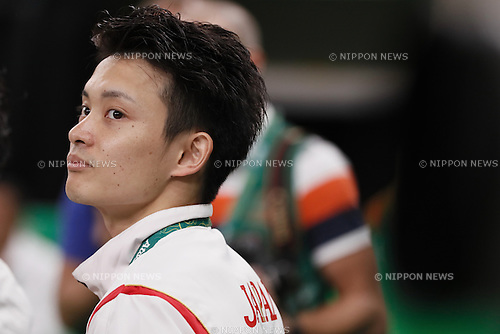 Yusuke Tanaka (JPN), <br /> AUGUST 8, 2016 - Artistic Gymnastics : <br /> Men's Final  <br /> Pommel Horse <br /> at Rio Olympic Arena <br /> during the Rio 2016 Olympic Games in Rio de Janeiro, Brazil. <br /> (Photo by Sho Tamura/AFLO SPORT)