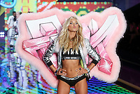 Elsa Hosk on the runway at the Victoria's Secret Fashion Show 2014 London held at Earl's Court, London. 02/12/2014 Picture by: James Smith / Featureflash