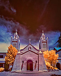 San Felipe de Neri Church, Albuquerque (Infrared)