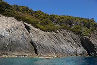 Isola di Gorgona. Gorgona island.