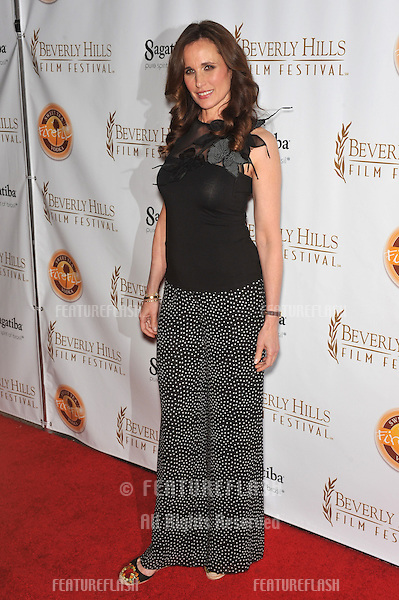 "Andie MacDowell at the world premiere of her new movie ""As Good As Dead"" at the opening of the Beverly Hills Film Festival..April 14, 2010  Los Angeles, CA.Picture: Paul Smith / Featureflash"