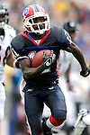 9 September 2007: Buffalo Bills wide receiver Roscoe Parrish in action against the Denver Broncos at Ralph Wilson Stadium in Buffalo, NY. The Broncos defeated the Bills 15-14 in the opening day matchup...Mandatory Photo Credit: Ed Wolfstein Photo