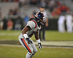 Ole Miss defensive back Louis Covington (19) vs. Georgia at Sanford Stadium in Athens, Ga. on Saturday, November 3, 2012.
