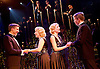 Side Show <br /> at Southwark Playhouse, London, Great Britain <br /> 25th October 2016 <br /> <br /> <br /> <br /> Haydn Oakley as Terry Connor<br /> <br /> Louise Dearman and Laura Pitt-Pulford as conjoined twins Daisy and Violet Hilton<br /> <br /> Dominic Hodson as Buddy Foster<br /> <br /> <br /> Side Show is presented by Paul Taylor-Mills<br /> Music composed by Henry Krieger<br /> Book and Lyrics by Bill Russell<br /> Additional Book material is by Bill Condon<br /> Directed by Hannah Chissick<br /> Choreography by Matthew Cole <br /> Design by takis <br /> Musical direction by Jo Cichonska<br /> Sound design by Dan Simpson<br /> <br /> <br /> Photograph by Elliott Franks <br /> Image licensed to Elliott Franks Photography Services