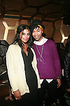 Designer Rachel Roy and Beyonce Stylist Ty Hunter Attend Rachel Roy's After Party with Theophilus London Held at DARBY DOWNSTAIRS,   2/13/12
