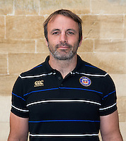 Academy Director Danny Grewcock poses for a portrait at a Bath Rugby photocall. Bath Rugby Media Day on September 8, 2015 at Farleigh House in Bath, England. Photo by: Rogan Thomson for Onside Images