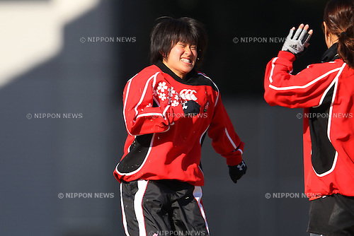 Yoko Suzuki, FEBRUARY 4, 2012 - Rugby : The 12nd Sevens Academy for Women at Ajinomoto National Traning Center, Tokyo, Japan. (Photo by YUTAKA/AFLO SPORT) [1040]