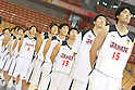 Japan team group, Joji Takeuchi (JPN), SEPTEMBER 15, 2011 - Basketball : 26th FIBA Asia Championship Preliminary round Group C match between Japan 81-59 Indonesia at Wuhan Sports Center in Wuhan, China. (Photo by Yoshio Kato/AFLO)
