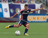 In a Major League Soccer (MLS) match, DC United defeated the New England Revolution, 2-1, at Gillette Stadium on April 14, 2012.