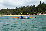 New Zealand, South Island: Kayaking from Kaiteriteri along the Abel Tasman National Park coast. Photo copyright Lee Foster. Photo # newzealand125065