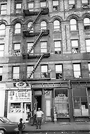 New York City, Harlem, July 1966. Street scene.
