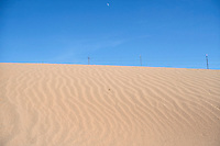 SAND DUNES<br /> Ripple Strata In Desert Dune<br /> Navajo Indian Reservation