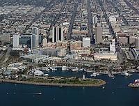 aerial photograph Long Beach, California