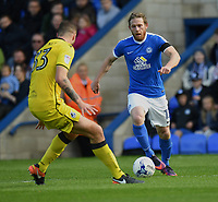 Peterborough United's Craig Mackail-Smith in action during todays match  <br /> <br /> Peterborough 4 - 2 Bristol Rovers<br /> <br /> Photographer David Horton/CameraSport<br /> <br /> The EFL Sky Bet League One - Peterborough v Bristol Rovers - Saturday 22nd April 2017 - ABAX Stadium - Peterborough <br /> <br /> World Copyright &copy; 2017 CameraSport. All rights reserved. 43 Linden Ave. Countesthorpe. Leicester. England. LE8 5PG - Tel: +44 (0) 116 277 4147 - admin@camerasport.com - www.camerasport.com